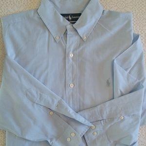 Men's casual shirt buttons down long sleeve shirt
